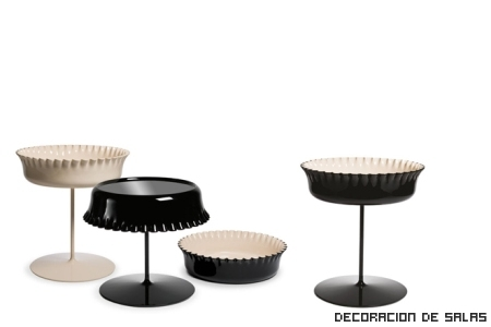 Mesas molde de tarta