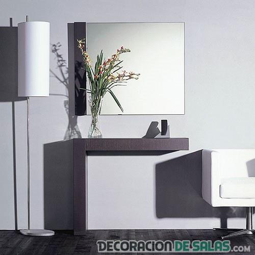 mueble recibidor forma