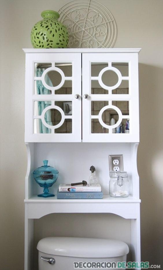 mueble superior para inodoro