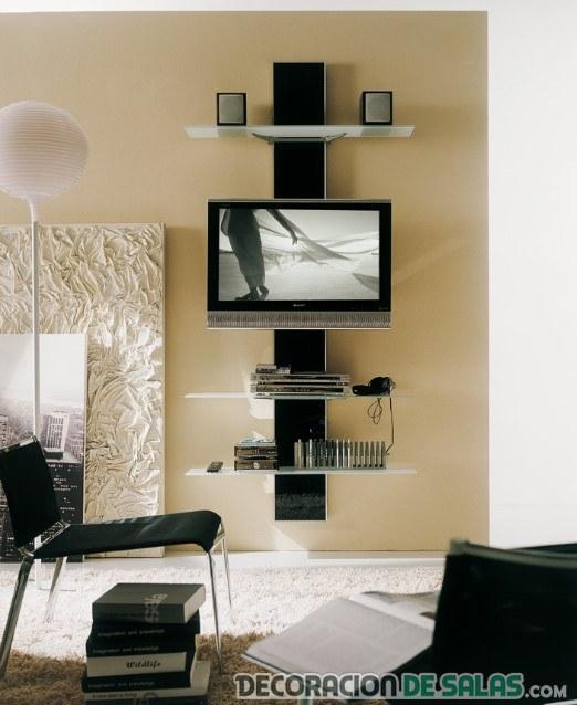 mueble vertical para salón