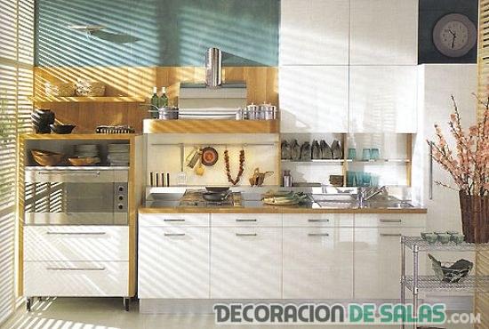 muebles auxiliares en cocinas