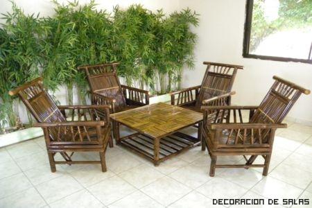 muebles bambu