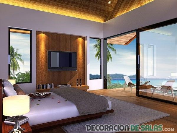 muebles de un dormitorio con vistas