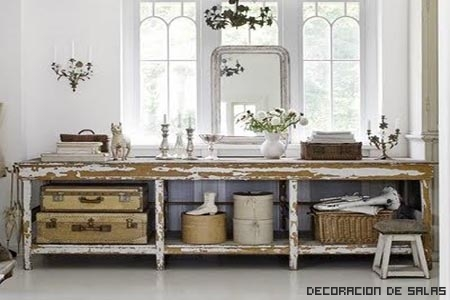 muebles dirty chic