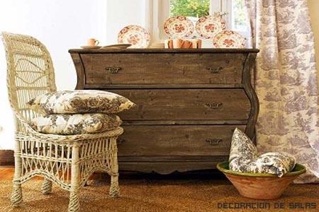 muebles estilo cottage