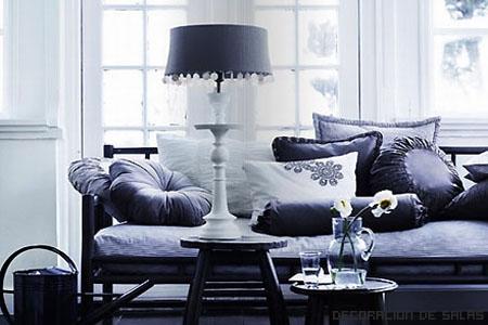 muebles gris