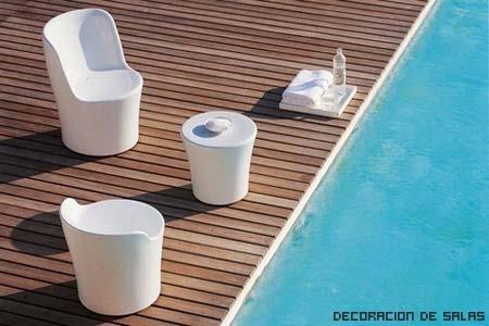 muebles jardin plástico