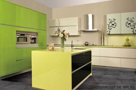 muebles lacados de cocina