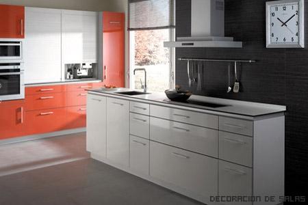muebles laminados de cocina