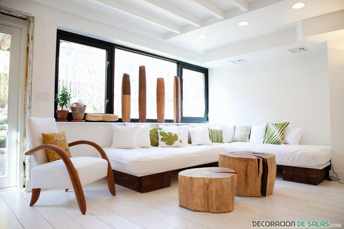 muebles minimalistas en madera