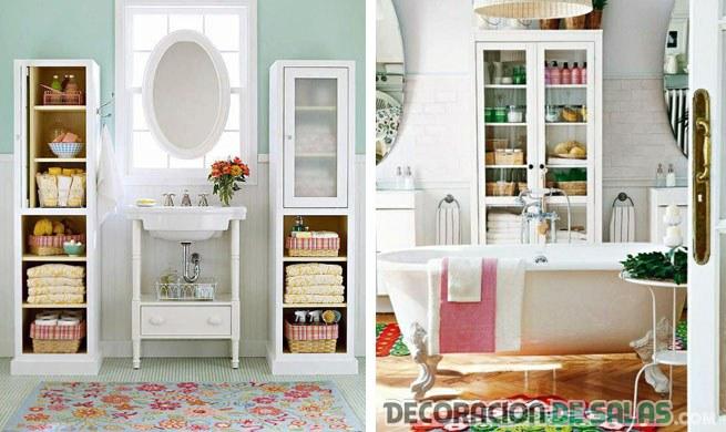 muebles para decorar el baño