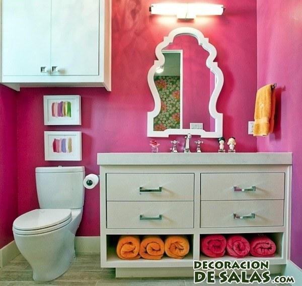 muebles para organizar el baño