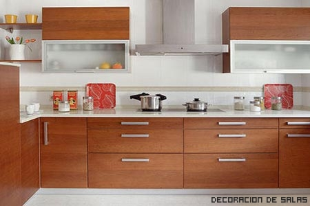 muebles que imitan la madera