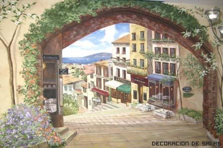 murales trompe oeil
