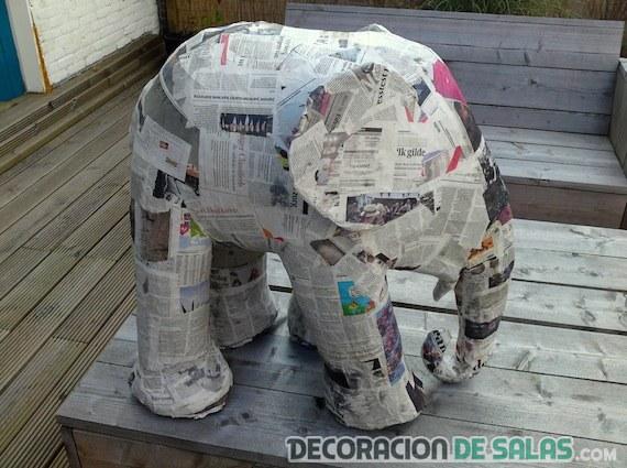 papel mache decoracion