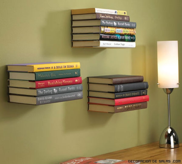 Decoración con libros
