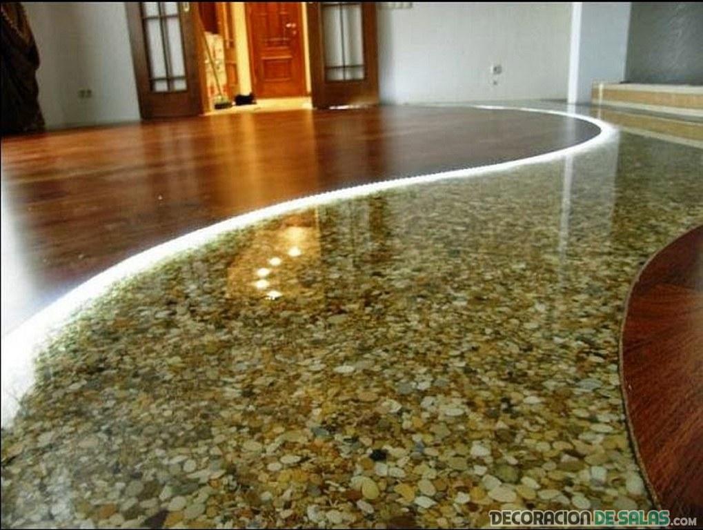 pasillo de piedras 3d para interiores