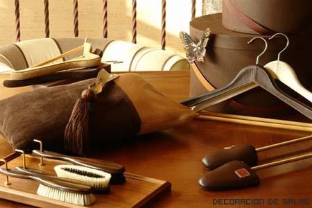 perchas y accesorios
