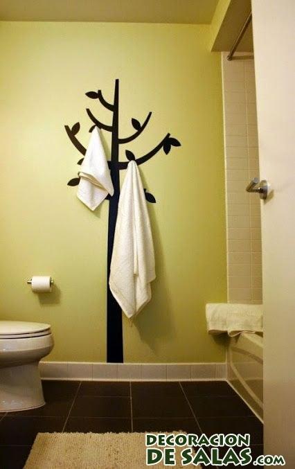 Percheros originales decoraci n de salas - Perchero de pared original ...