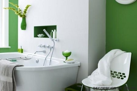 pintar paredes baño