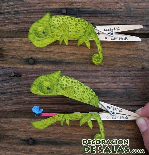pinza camaleón