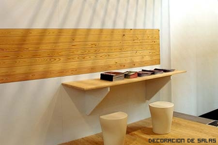 plaqueta decorativa madera
