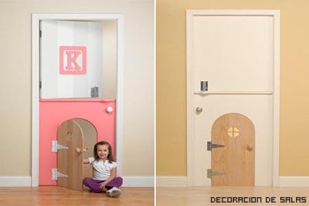 puerta para niños