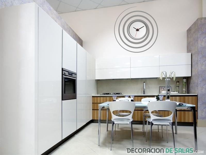 reloj espiral para cocina