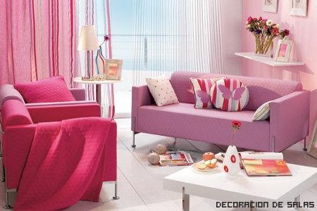 rosa pastel- fucsia