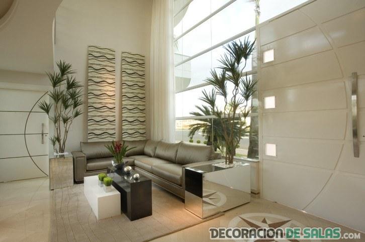 sala abierta moderna e irresistible