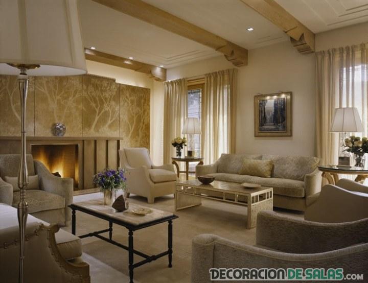 sala clásica y elegante