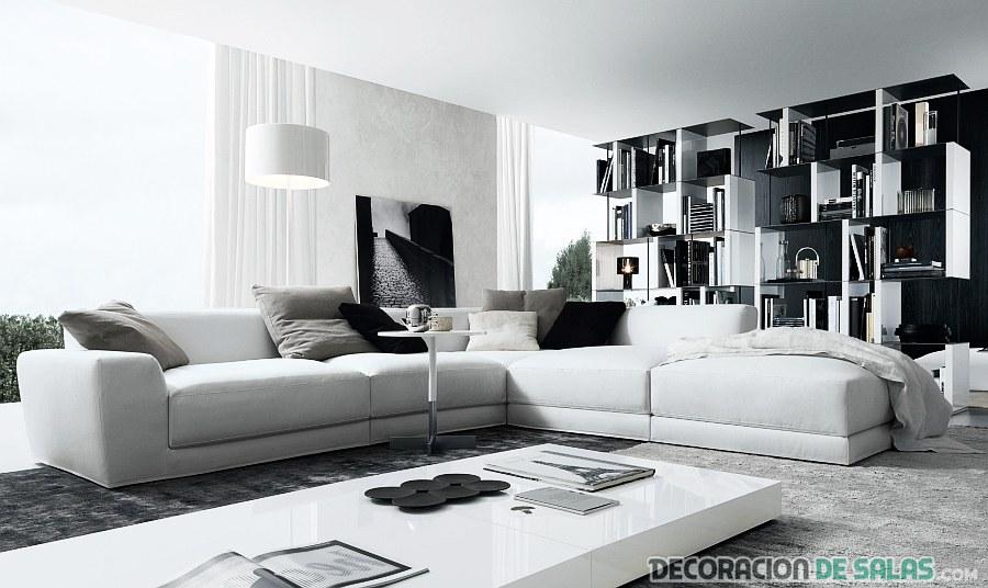 sala combinada de colores básicos