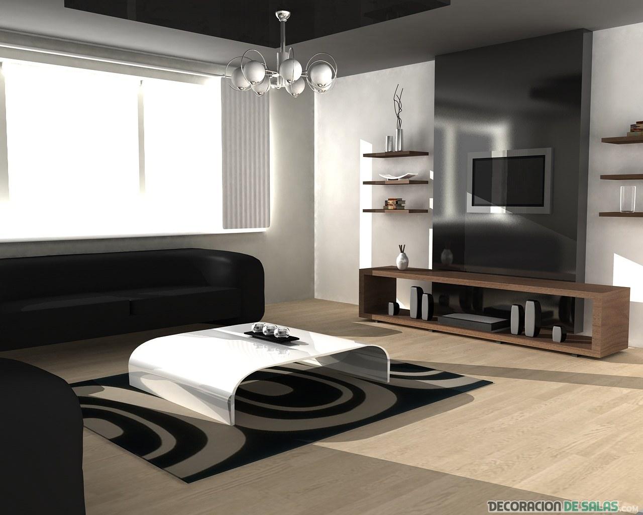 sala con estilo moderno