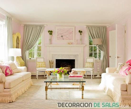 sala grande colores pastel
