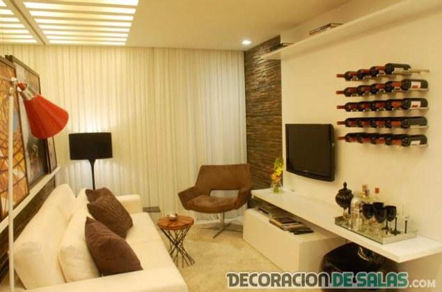 sala pequeña y cómoda