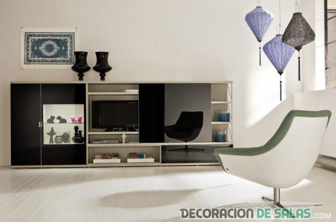 sala sencilla decorada estilo contemporáneo