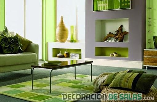 sala verde pequeña