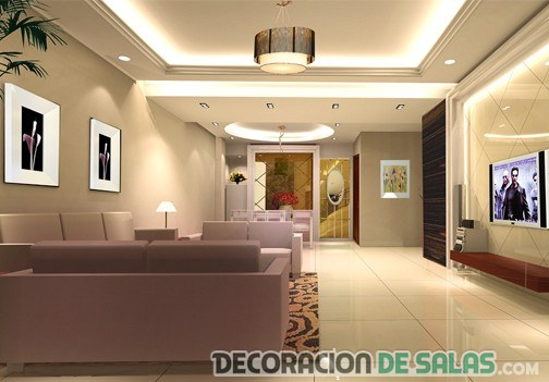 salon azulejos led