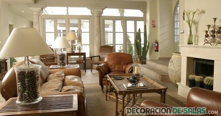 Salones y comedores de estilo colonial | Decoración de Salas
