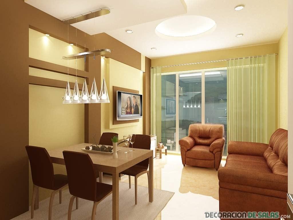 salón comedor decoración sencilla