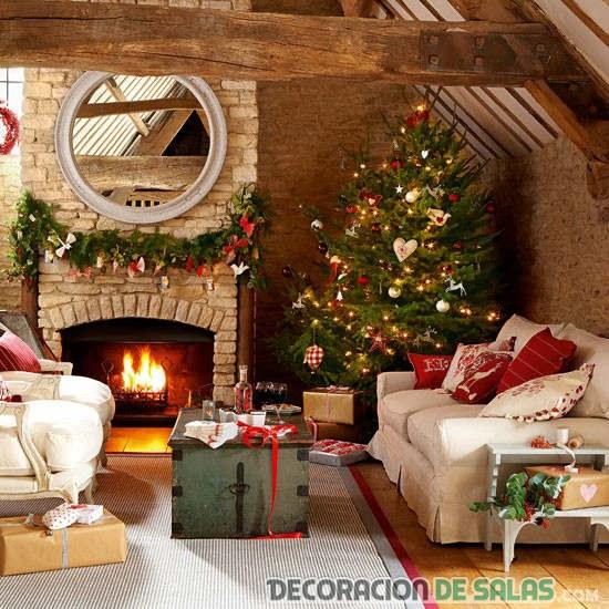 salón de navidad en casa campo
