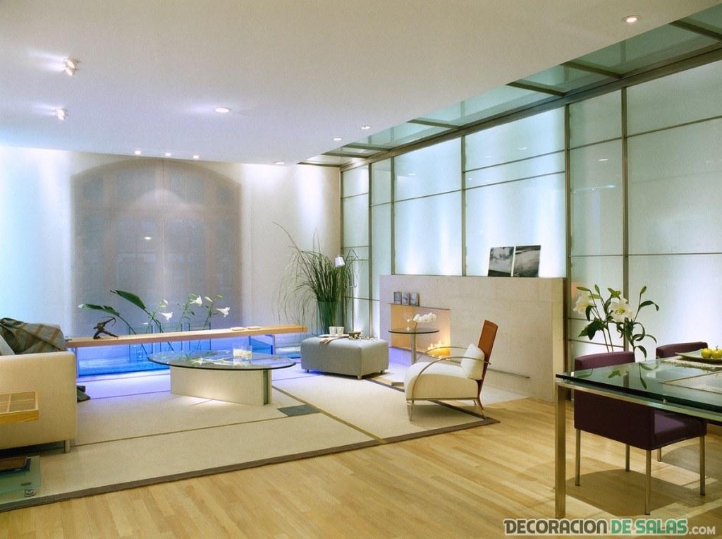 salón elegante y amplio