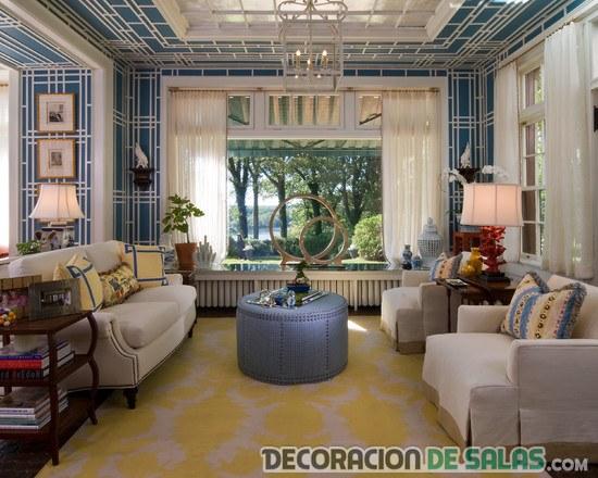 salón elegante y clásico