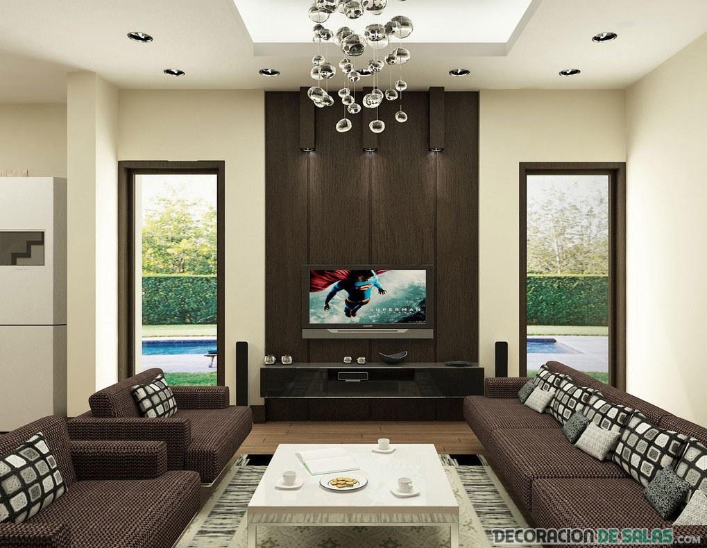 salón elegante y sencillo