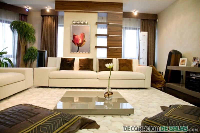 salón grande sofisticado