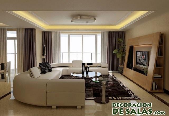 salón moderno luminoso