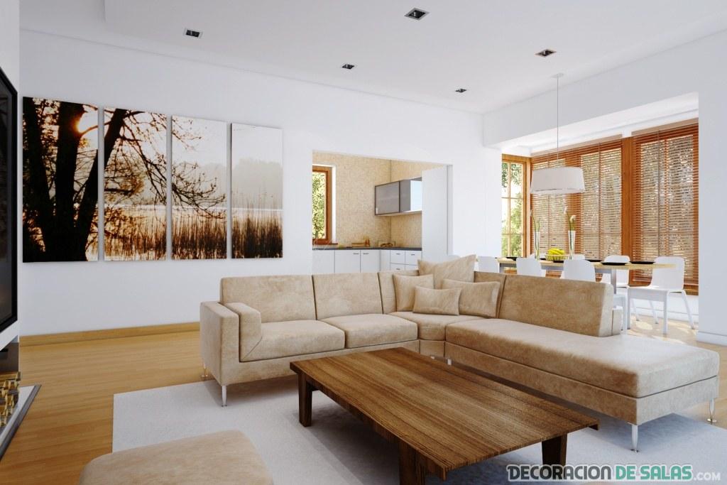salón moderno sencillo