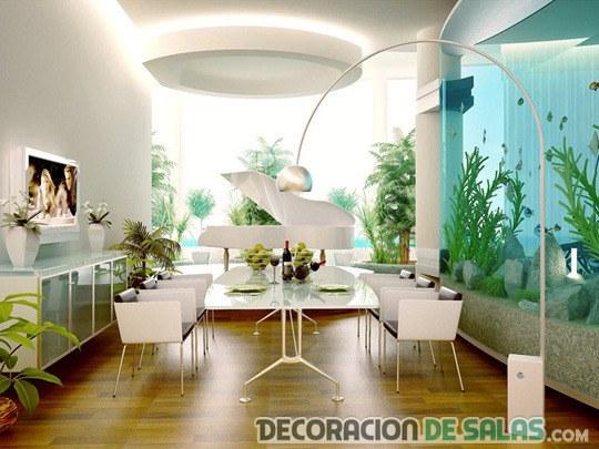salón original en color blanco