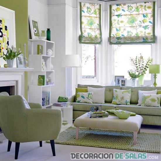 salón pinceladas verde claro