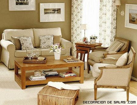 sofás en colores pastel